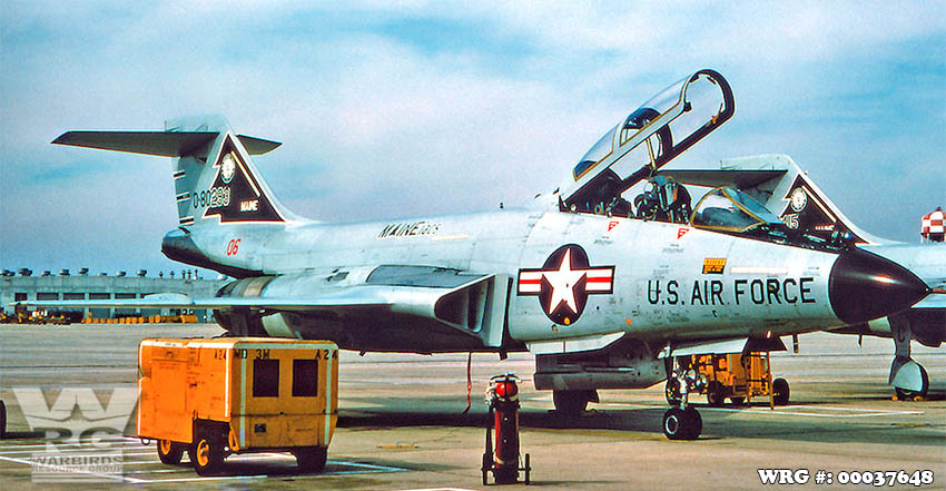 F-101B Voodoo/58-0293 of the 132nd FIS/Maine ANG.